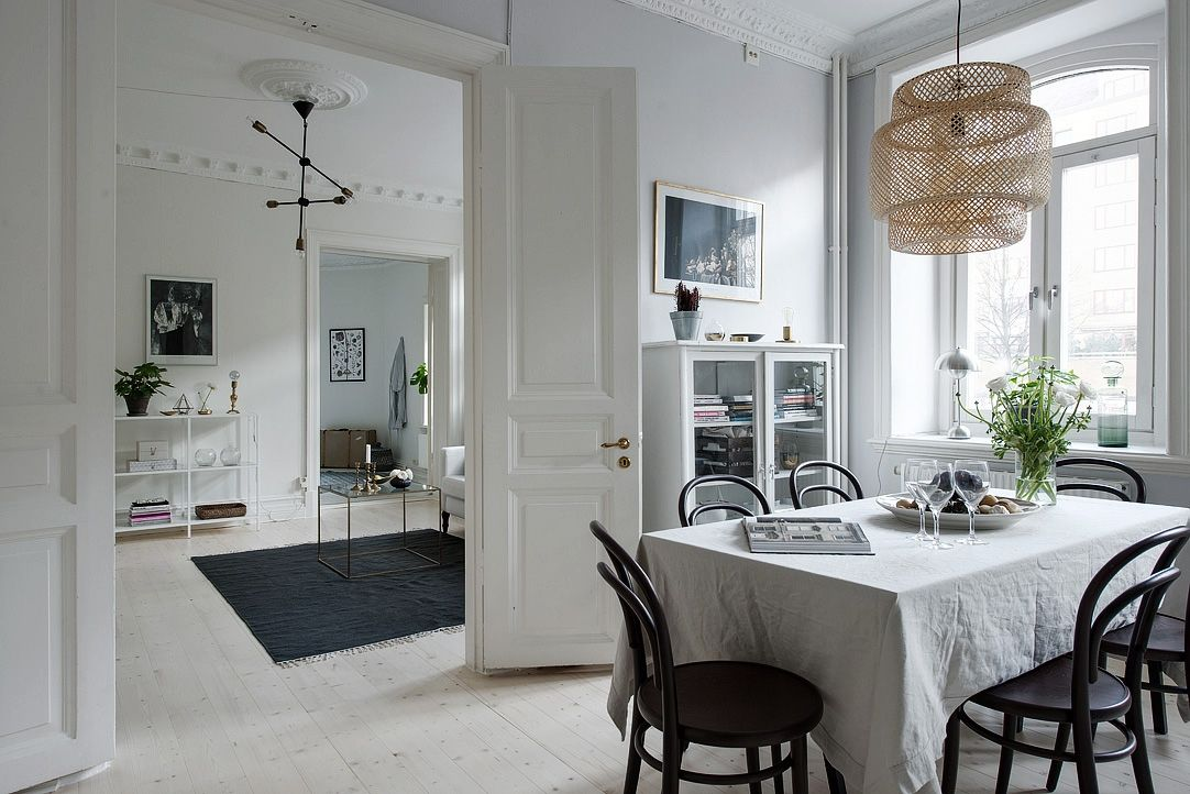 Pin by Lena Asblad on KITCHEN | Home, White dining room