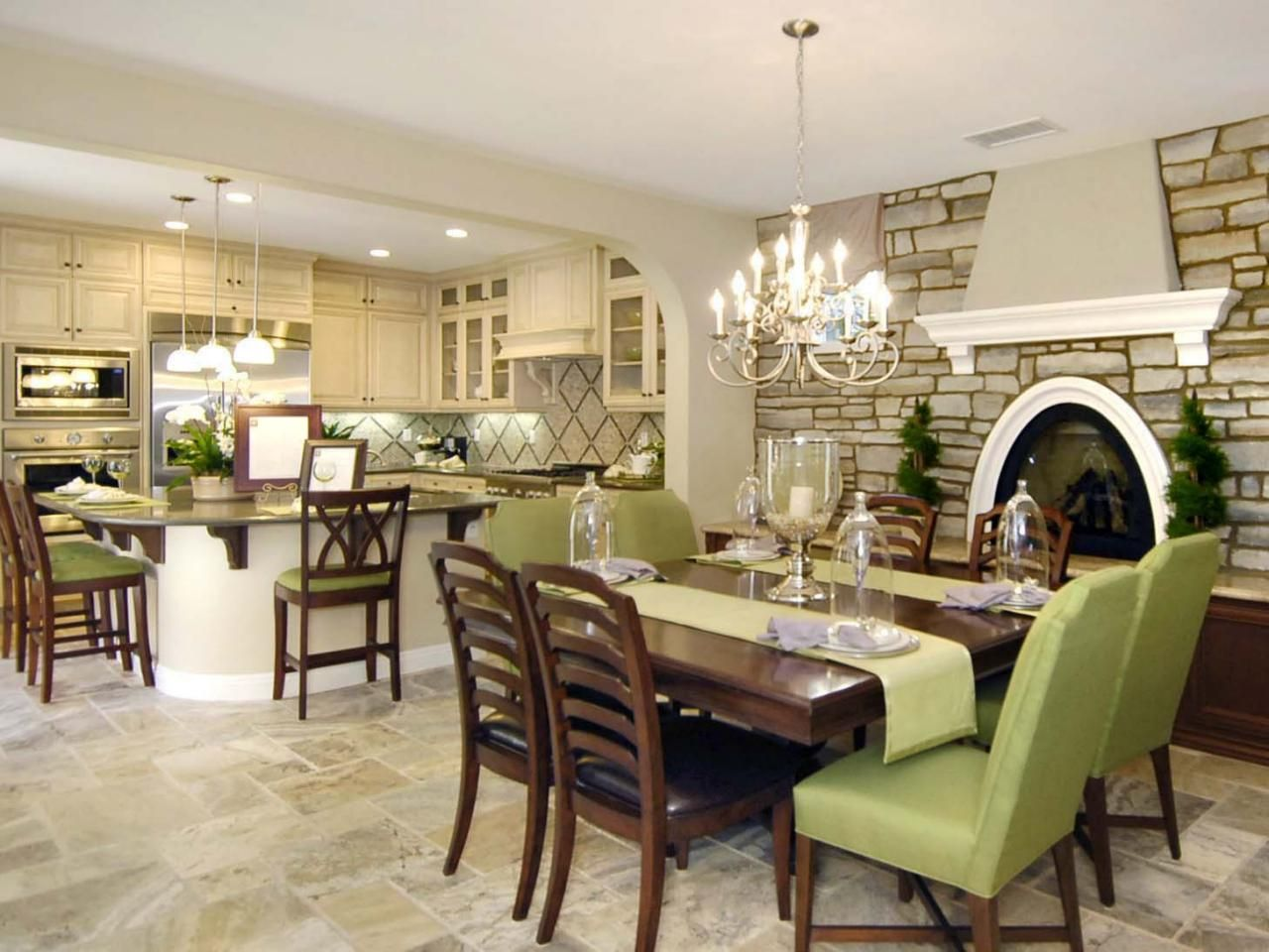 Lighting Tips For Every Room  Hgtv Stone Walls And Remodeling Ideas Interesting Hgtv Dining Rooms Design Inspiration