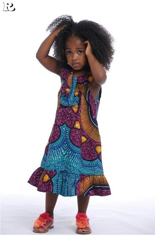 kids in print See Her Unique Ankara Style