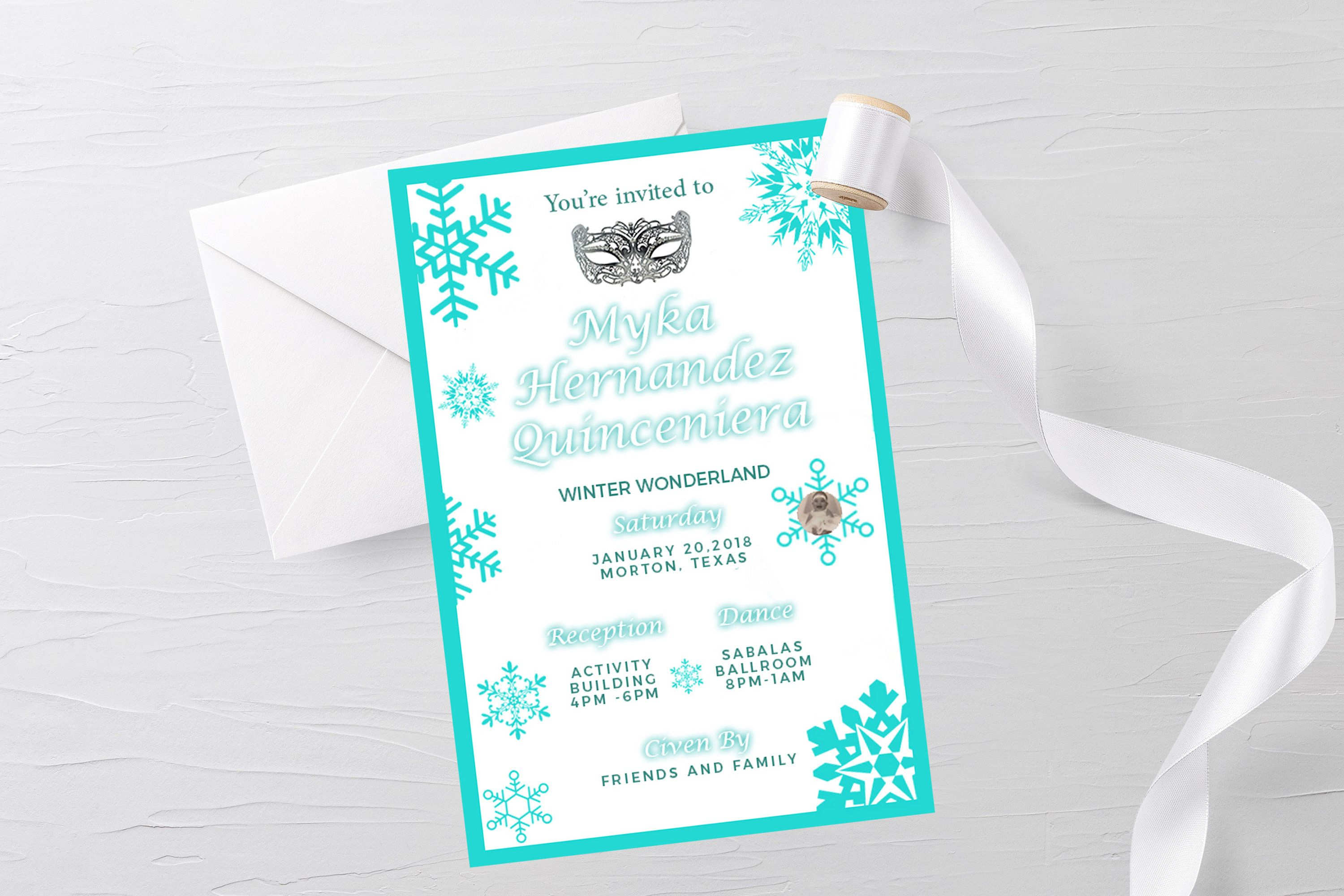 Winter Wonderland Party Winter Invitation Winter Party
