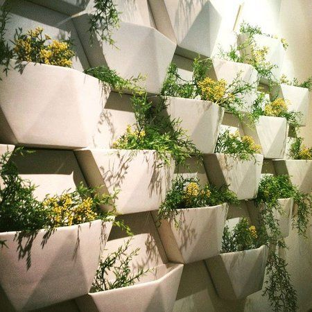 Planting in wall pots outdoor planters pinterest plants walls planting in wall pots workwithnaturefo