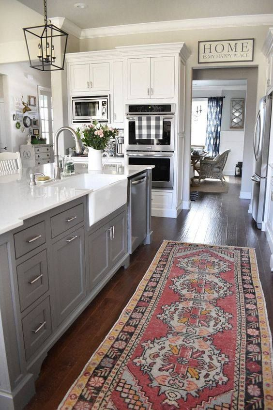 grey kitchen rugs natural pine cabinets 25 stunning picture for choosing the perfect dream beautiful and mats restaurant floor commercial soft cushioned