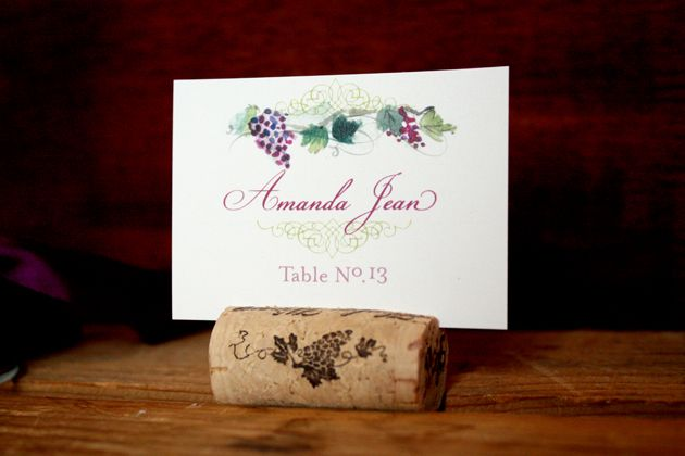 Tuscan Themed Wedding Invitations: Tuscan Vineyard: Wine Country Wedding Invitation