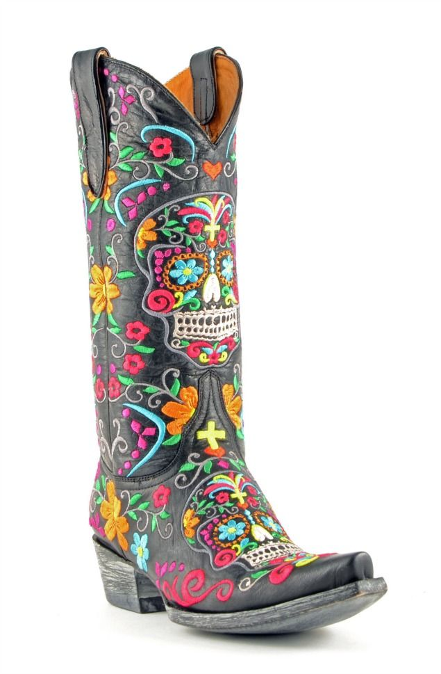 1000  images about boots on Pinterest | Santa muerte Boots and Brass