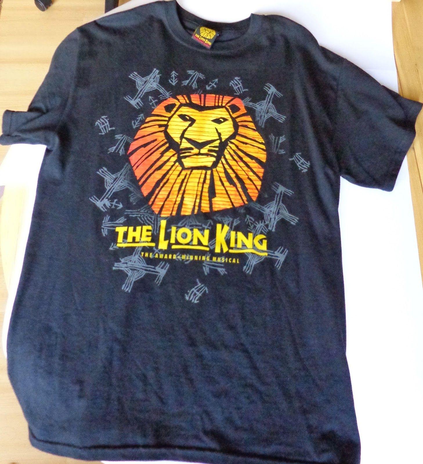 MDC: The Lion King Musical T-shirt London