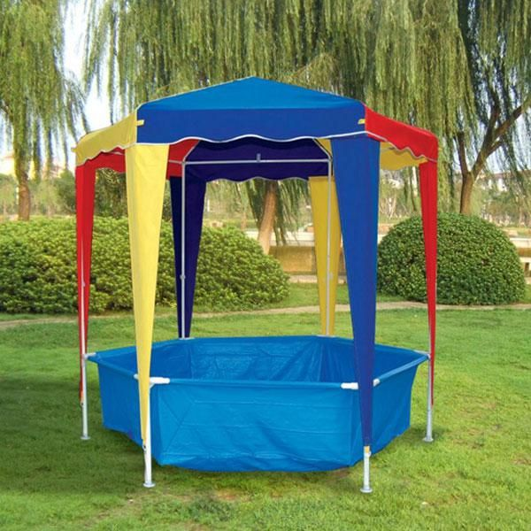 Kids Pool With Gazebo. Must Have For This Summer.