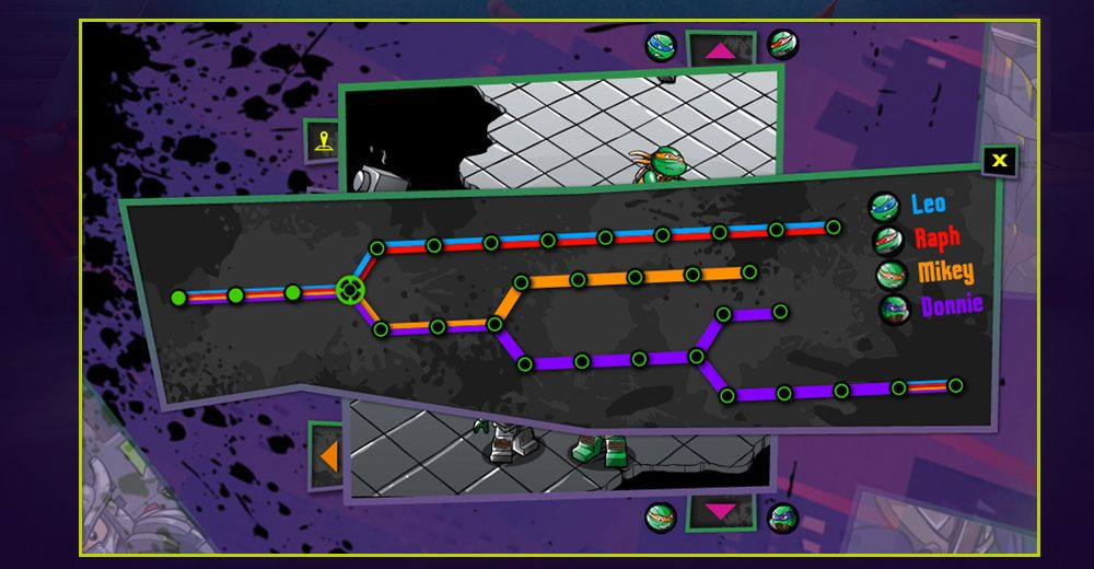 LEGO | Teenage Mutant Ninja Turtles: Interactive Comic | Caravan ...