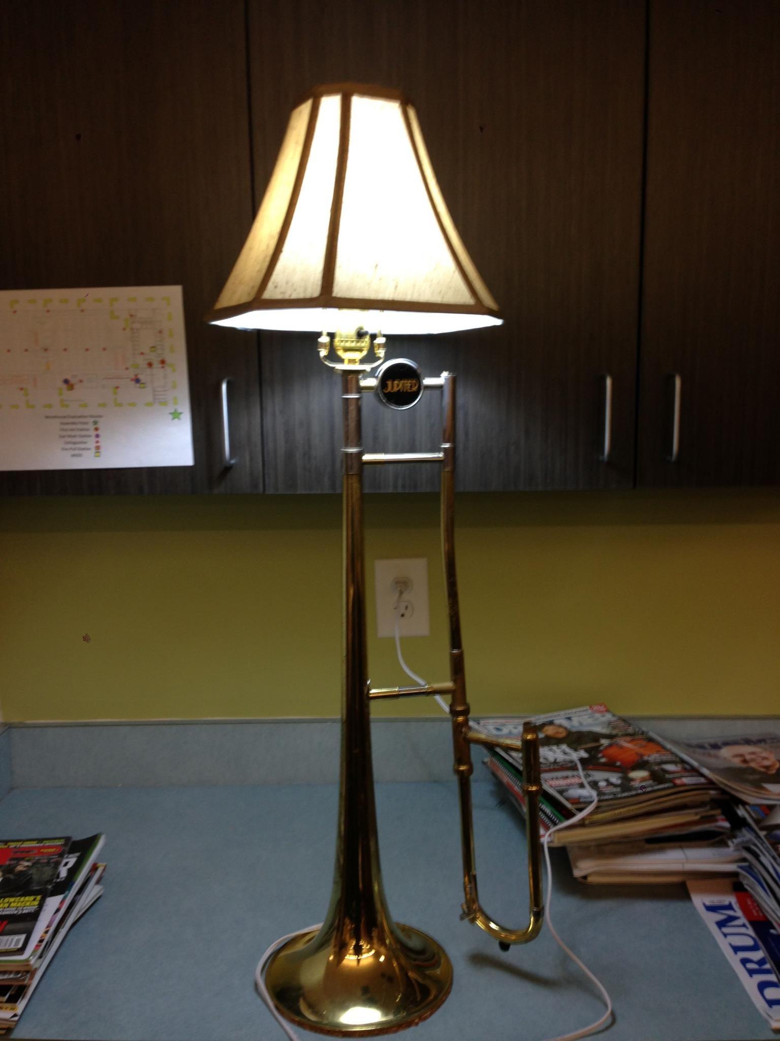 Trombone Lamp Trombone Lamp Things You