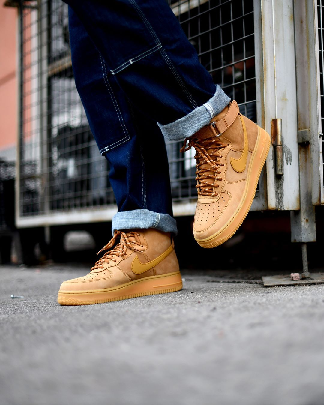 Nike Air Force 1 High 07 Flax Available Online Available