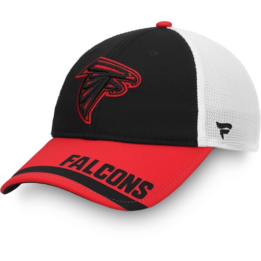 Men S Atlanta Falcons Fanatics Branded Black Icon Tech Trucker Snapback Hat In 2020 Snapback Hats Falcons Atlanta Falcons