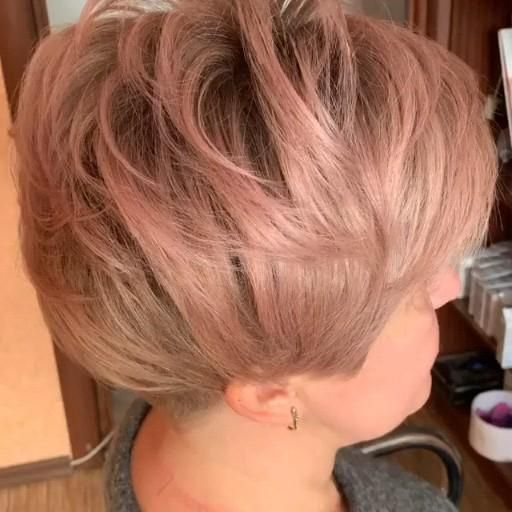 Beautiful Short Hairstyles Colors