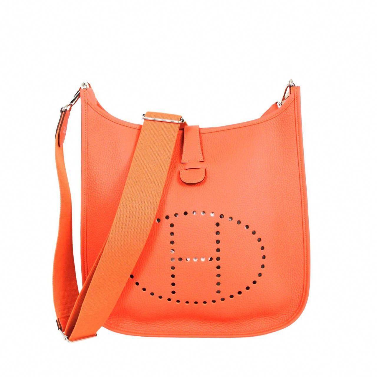 7792226264c Hermès Orange Taurillon  3