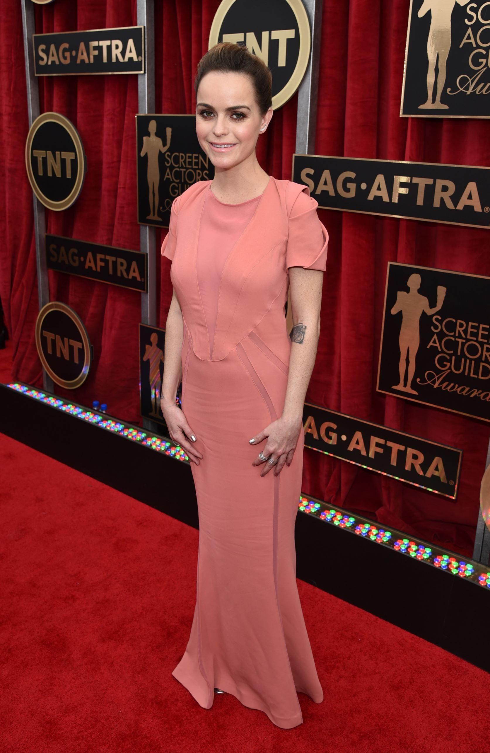 2015 Screen Actors Guild Awards Red Carpet///  I live under a bridge.