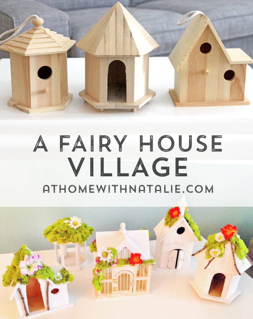DIY Fairy House Village Tutorial