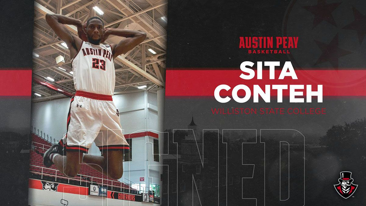 Apsu Men S Basketball Adds Sita Conteh To 2019 20 Roster Clarksville Tn Online Austin Peay State University Mens Basketball Basketball