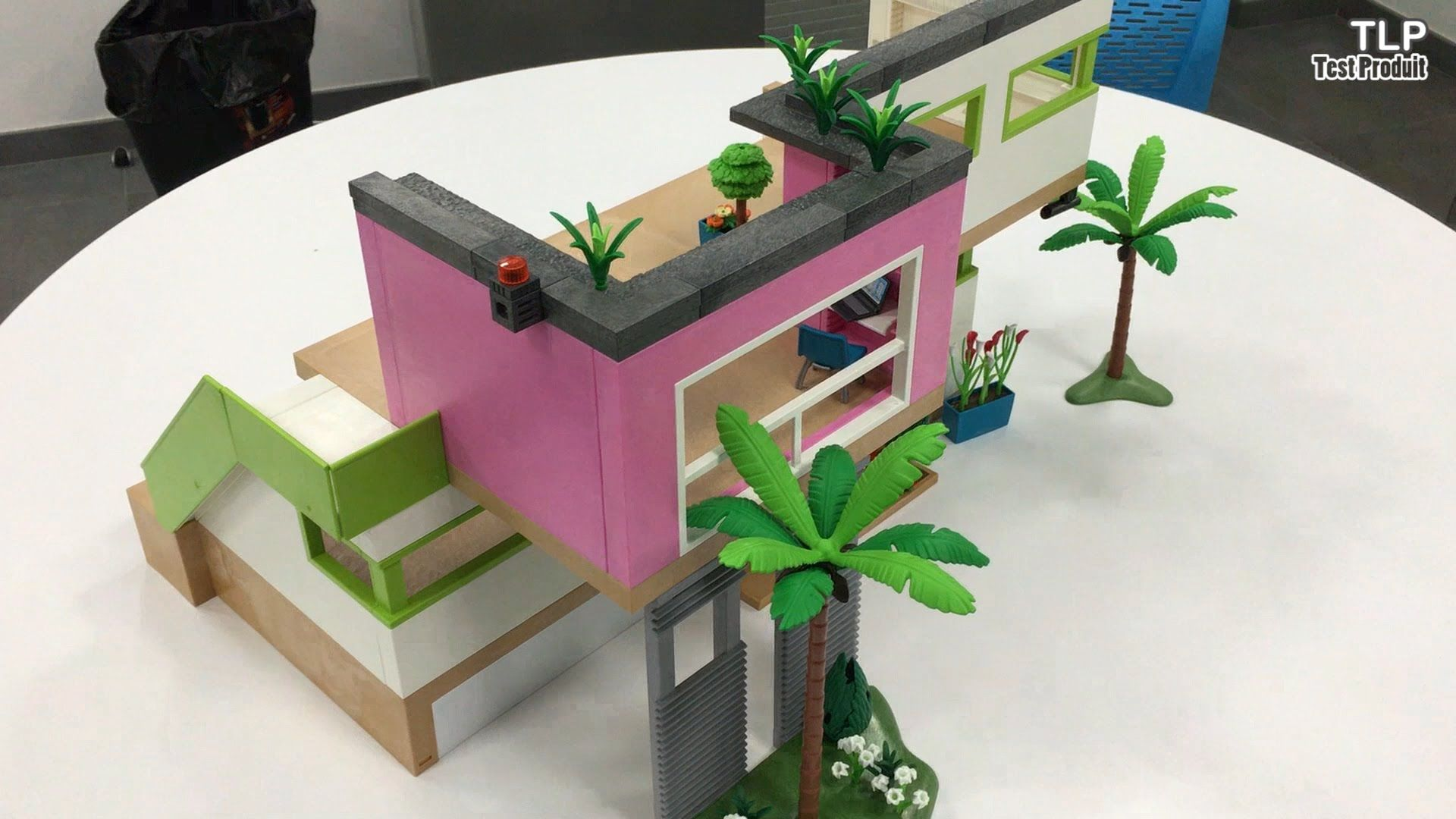 Construction de la Maison Moderne Playmobil (n° 5574) Pour l ...