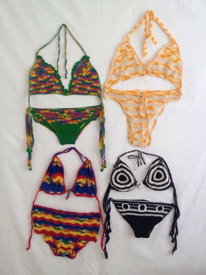 4- Hand Crochet Bikini