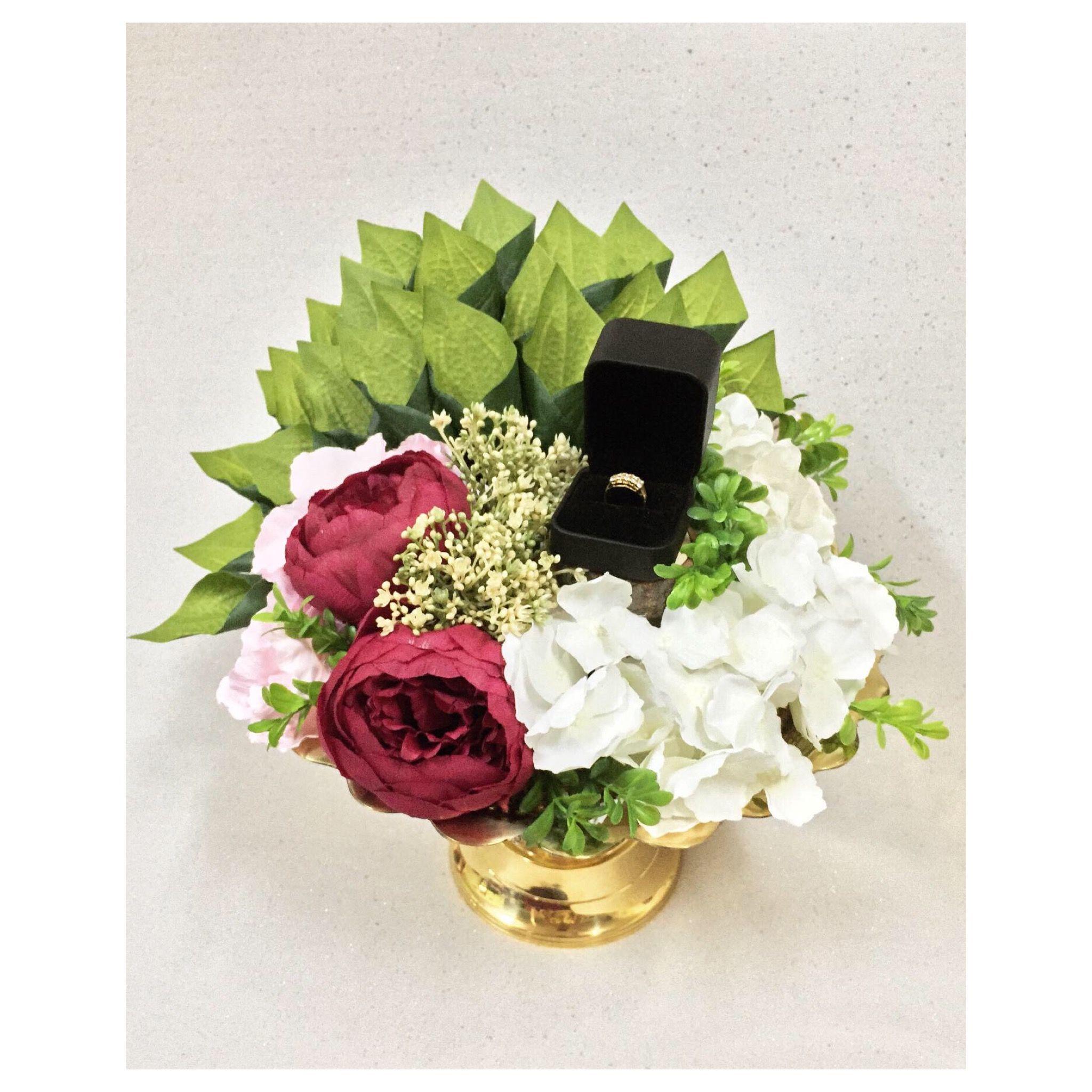 Sirih Junjung Bekas Cincin Wedding Gifts Packaging Hantaran Idea Sirih Junjung