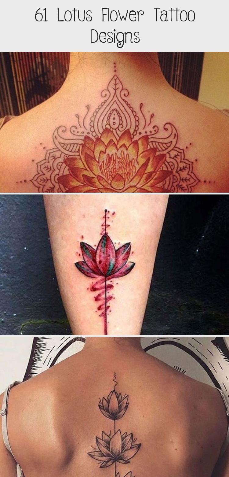 61 Lotus Flower Tattoo Designs | Small lotus tattoo ...
