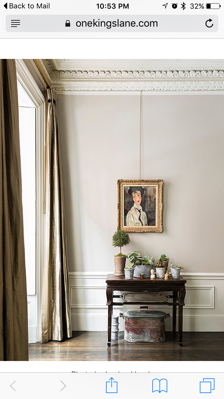 Simply White and Revere Pewter by Benjamin Moore | : : p a i n t ...