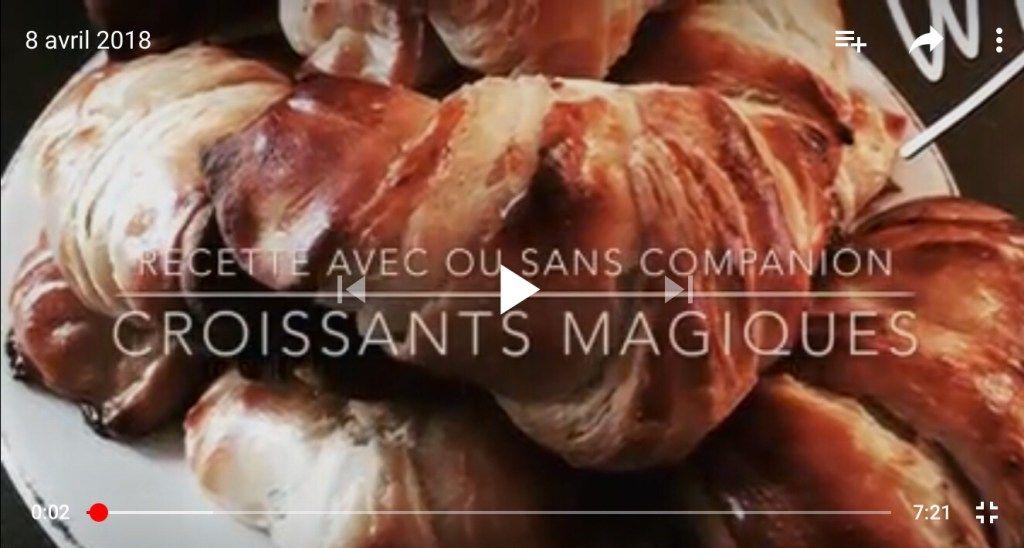 Croissants magiques : pâte feuilletée levée rapide, sans tourage ! #patefeuilleteerapide