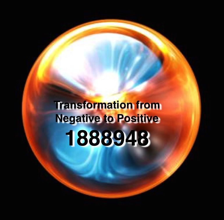 Grabovoi number sequence for transformation from negative