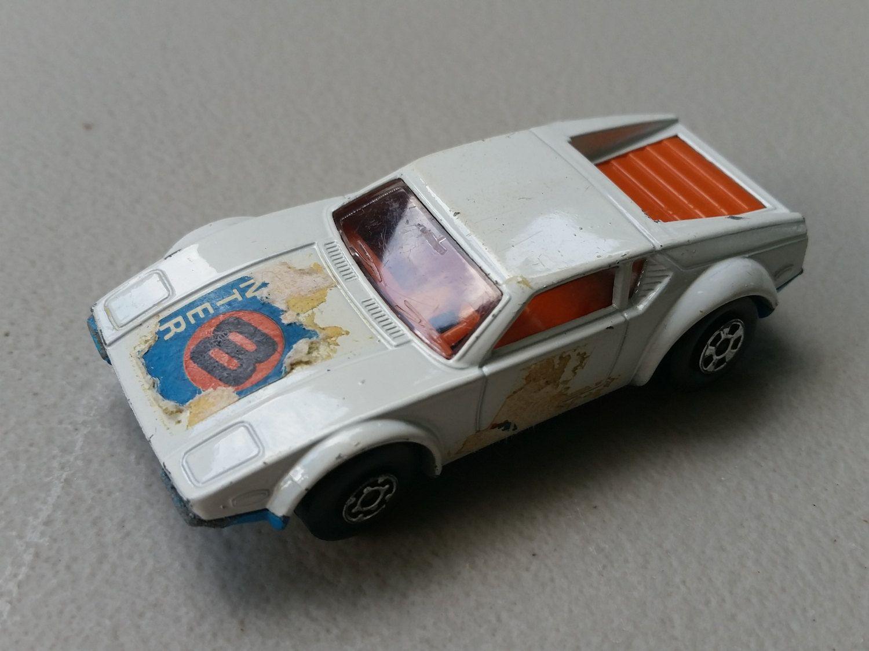 Matchbox No 8 De Tomaso Pantera 1975 Matchbox Pantera Toy Car [ 1125 x 1500 Pixel ]