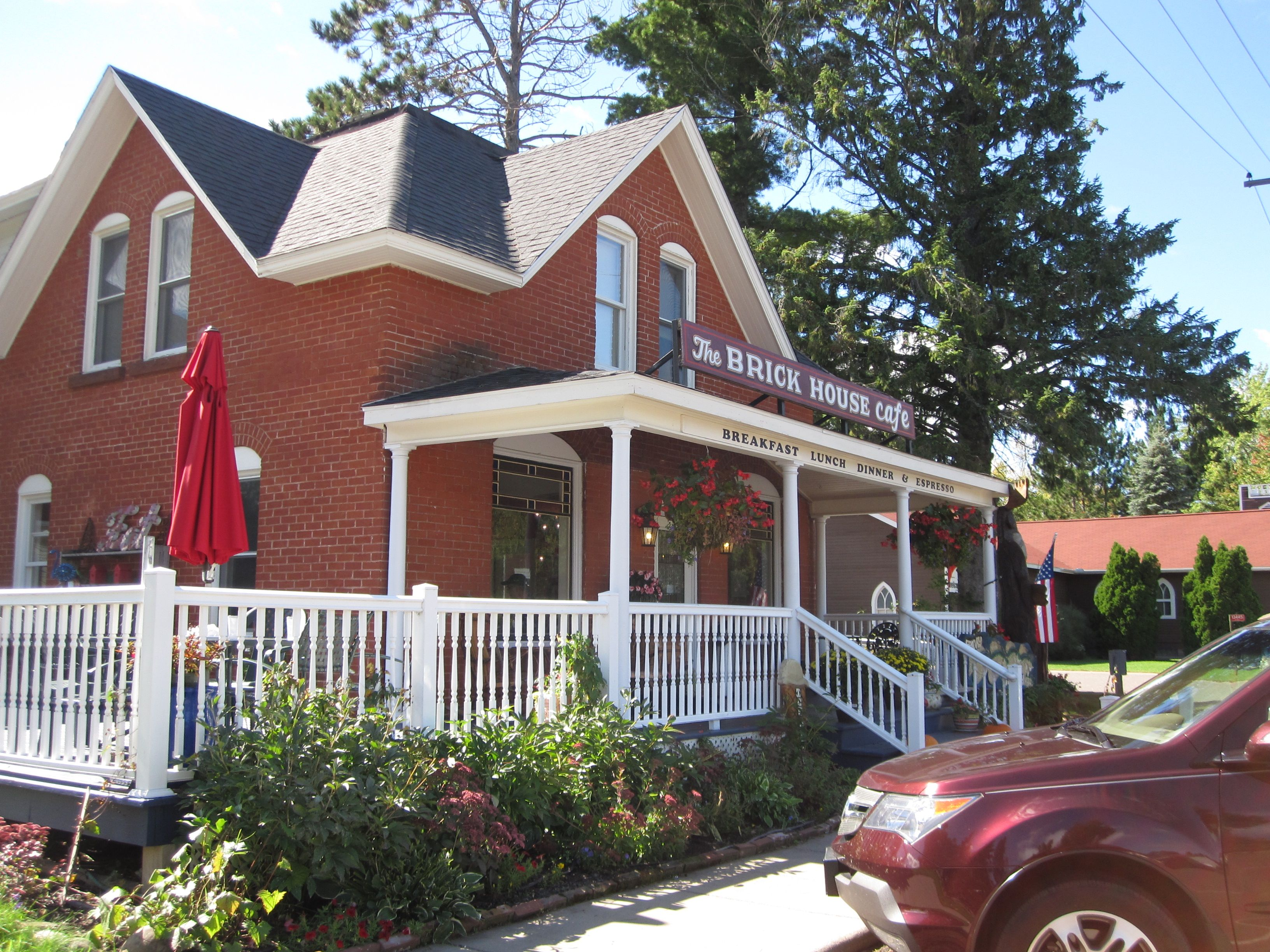Itu0027s A Brick House! Wonderful Food In Cable, Wisconsin!