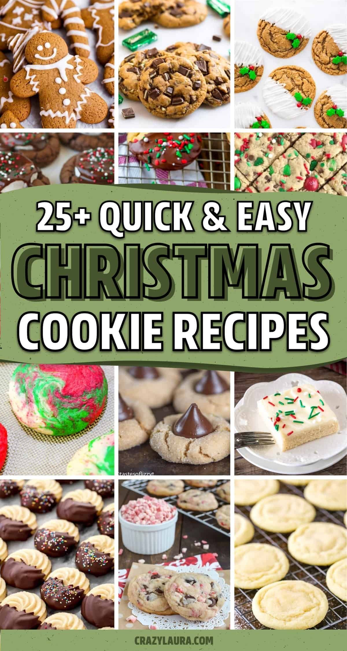 Christmas Cookies Recipes 2021 25 Best Christmas Cookie Recipes For 2021 Crazy Laura Easy Christmas Cookie Recipes Cookies Recipes Christmas Cookie Recipes
