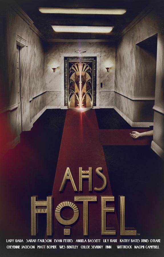 Ahs Hotel Mattress Poster
