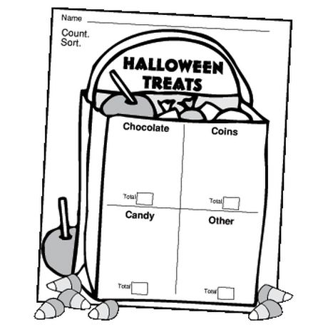 """Here's homework assignment kiddos won't mind completing. Perfect for Halloween or a follow up to a fall festival """"trunk-or-treat!"""""""