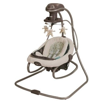 graco duet connect 2in1 swing and bouncer winslet color even