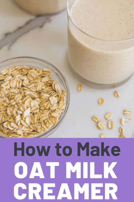 This easy oat milk recipe is dairyfree glutenfree and