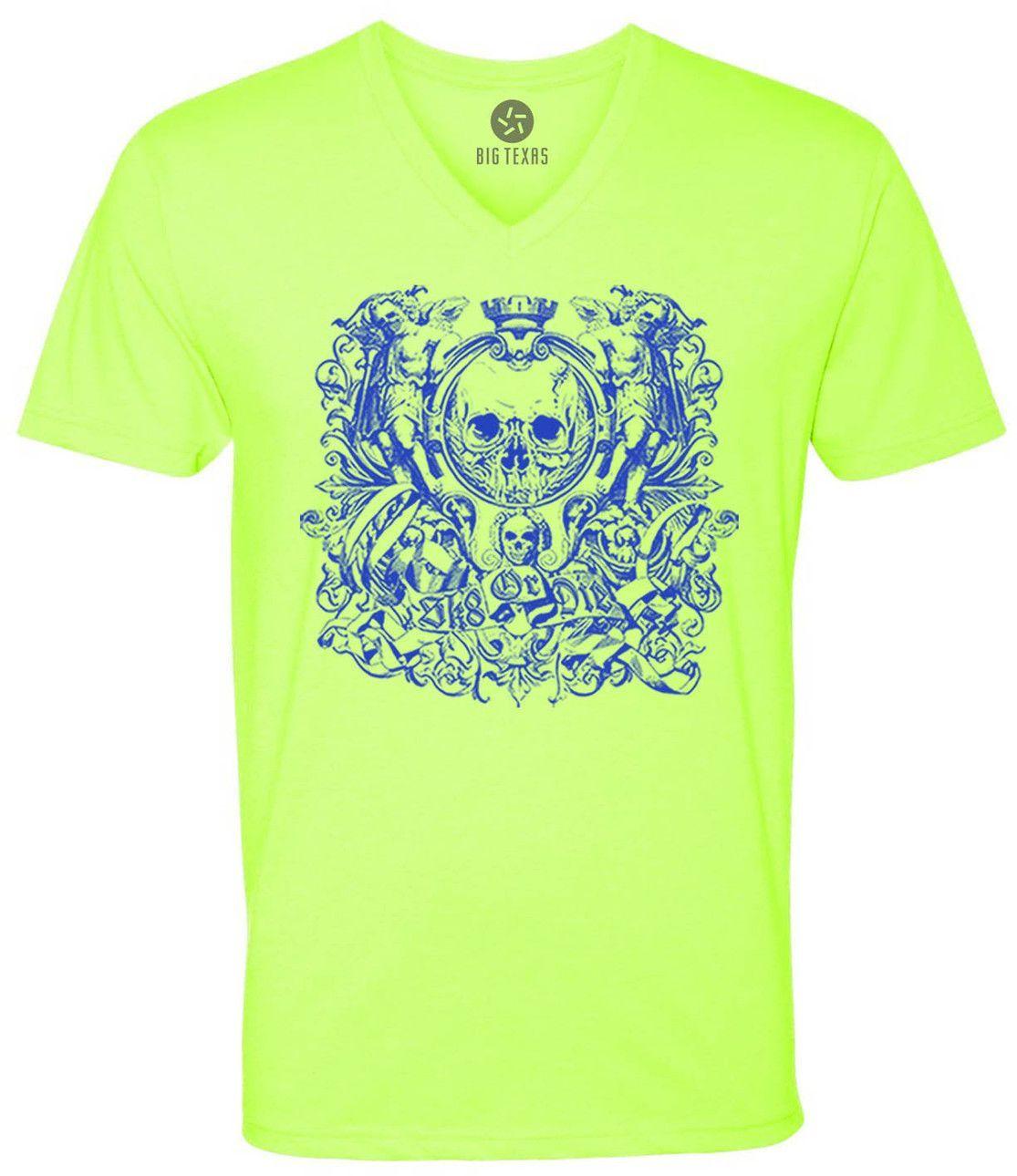 Sk8 or Die (Blue) Short-Sleeve V-Neck T-Shirt