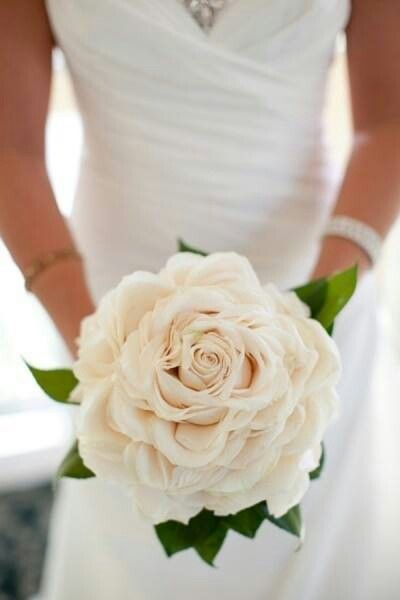 Rosette Bouquet.....Lots of petals arranged around a single rose to ...