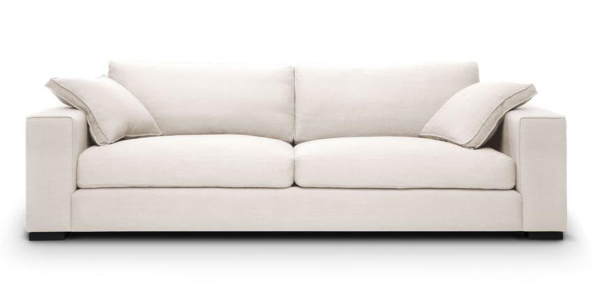 Sitka Quartz White Sofa Modern Sofa Couch White Sofas Sofa