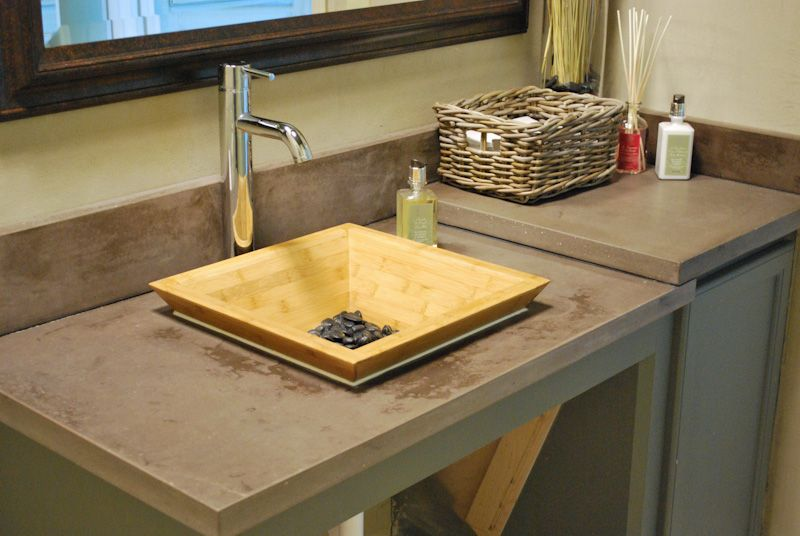 Charmant Texstone: Countertops Made From Recycled Materials Found In Houston, TX  Cool Counter Tops And I Love The Bathroom Idea!