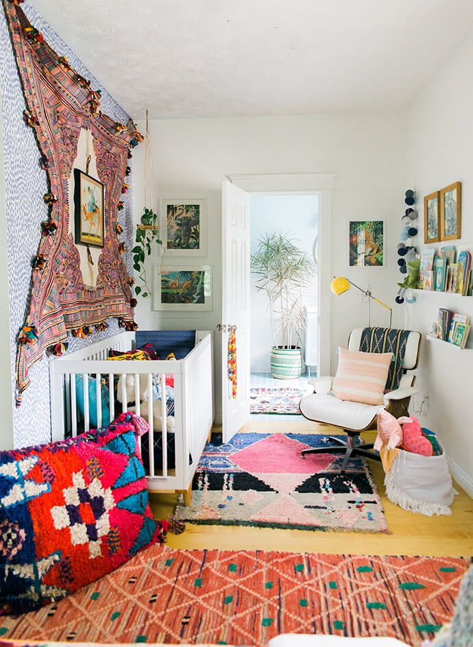 Step inside the free spirited home of jennifer from - Hipster zimmer ...
