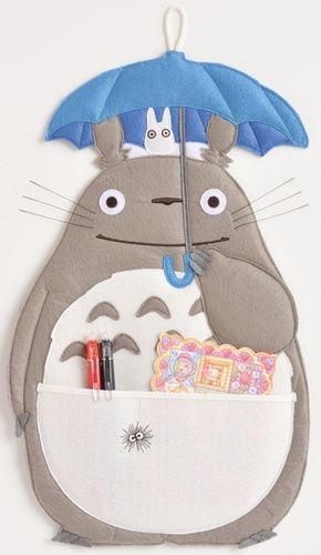 Totoro Wall Pocket トトロ 誕生カード 手作り