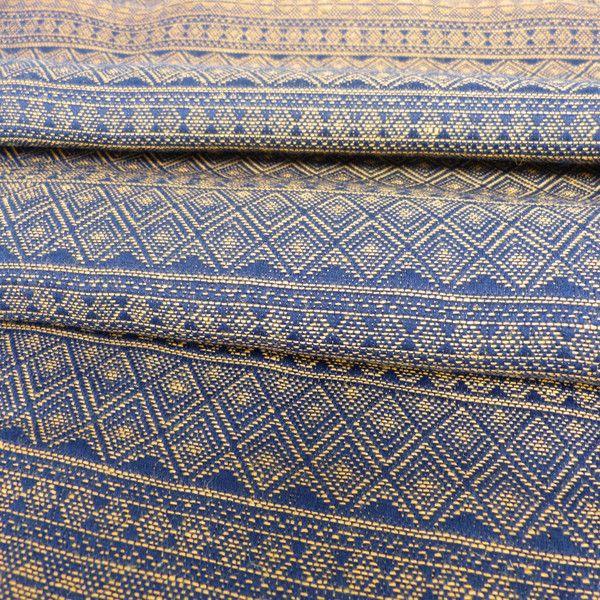 Didymos Deep Blue Gold Hemp Indio Woven Wrap