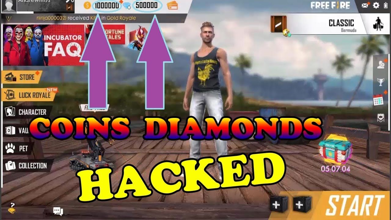 Free Diamonds On Free Fire In 2020 Tool Hacks Android Hacks Download Hacks