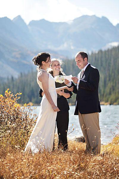Colorado Elopement: Daniel and Kellie\'s Real Wedding | Elopements ...