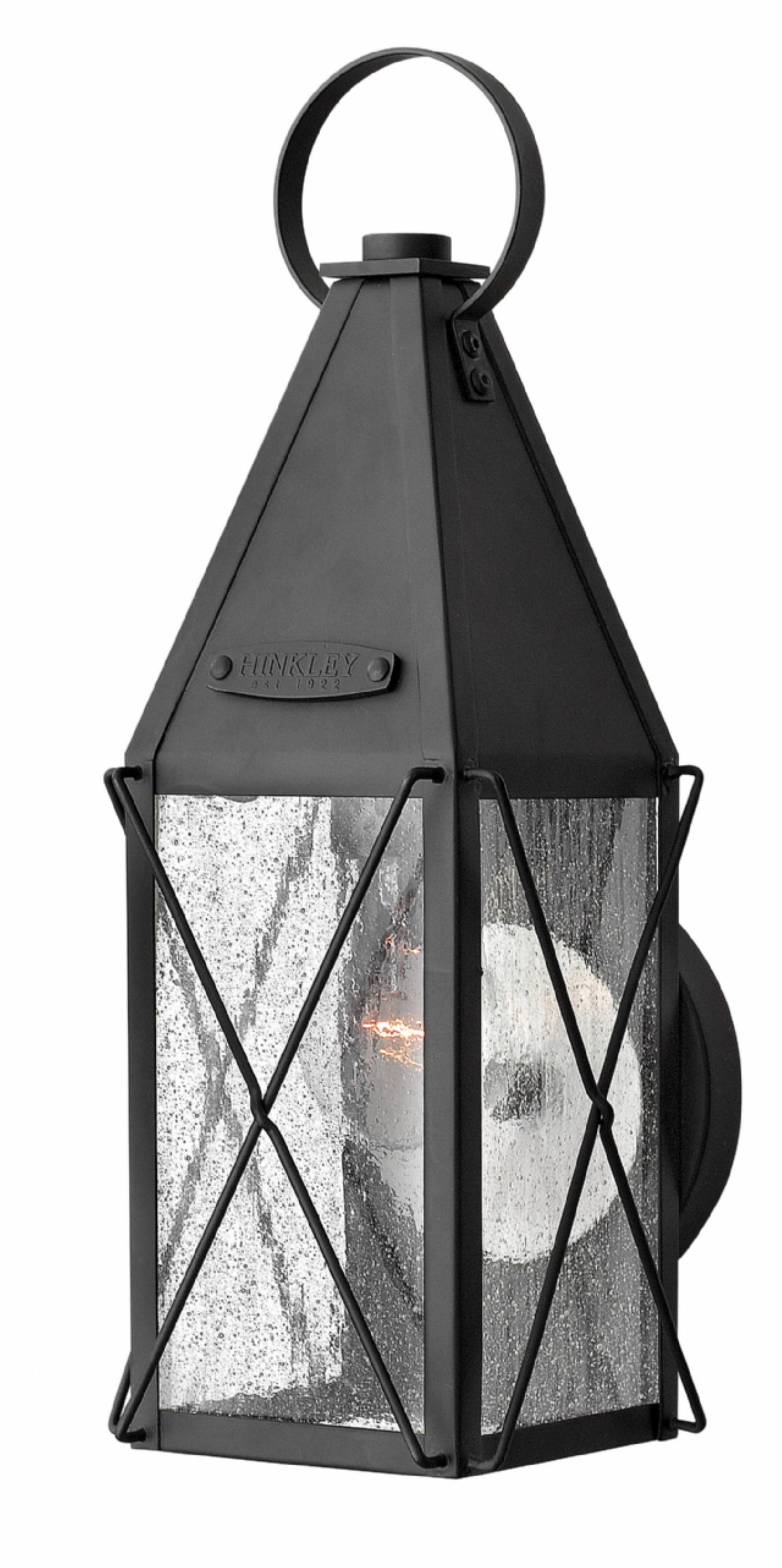 Hinkley lighting carries many black york exterior wall mount light fixtures that can be used to enhance the appearance and lighting of any home