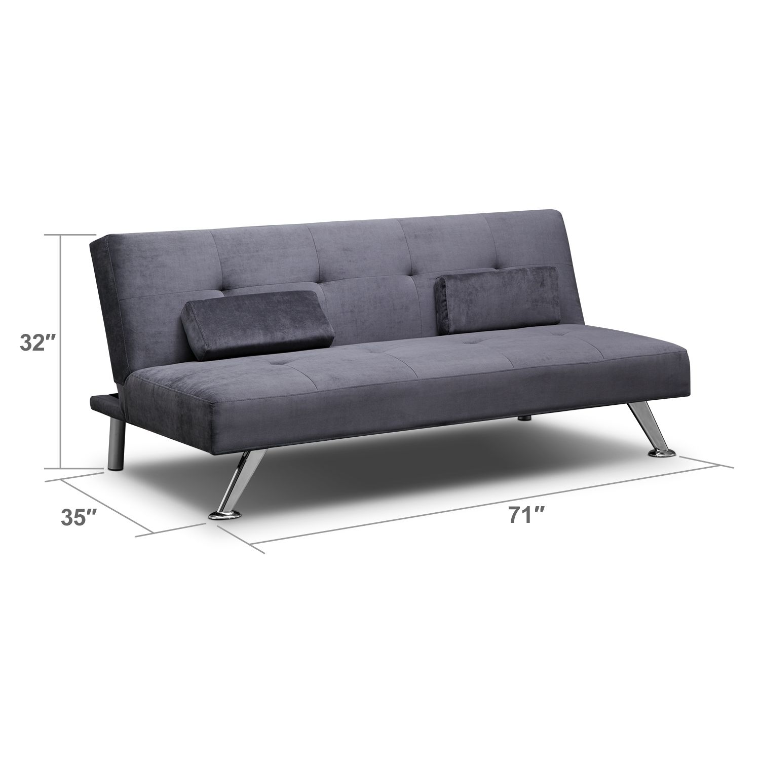 Marlene Futon Sofa Bed Value City Furniture Sofa Cama