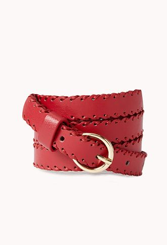 Classic Skinny Faux Leather Hip Belt | FOREVER 21 - 2000072992