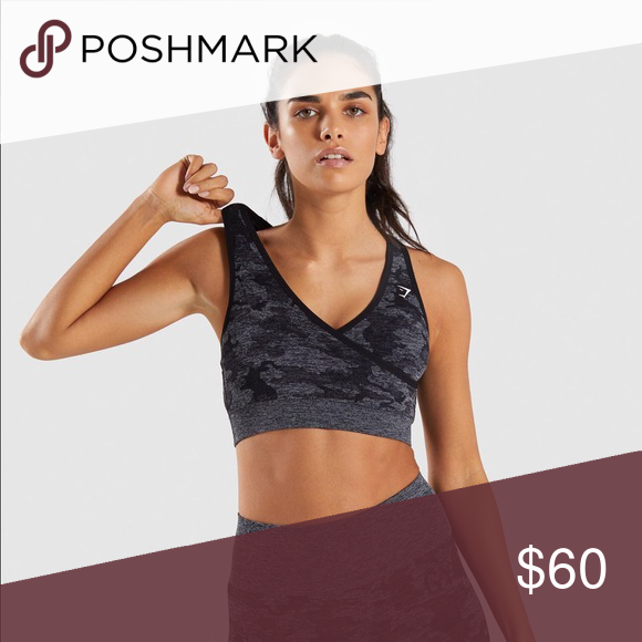 413fad28b0 Gymshark Seamless Camo Bra I want to trade! I bought this in medium and  small