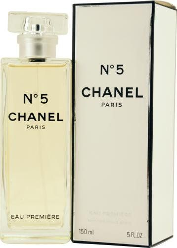 59b346efc No. 5 Eau Premiere by Chanel for Women, Eau De Parfum Spray, 5 Ounce ...