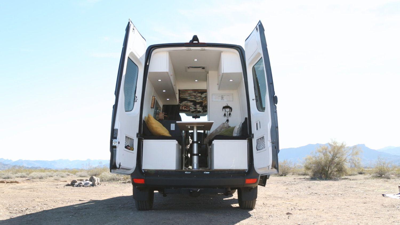 DIY Mercedes Sprinter Van Walk Through [video] | Sprinter van ...