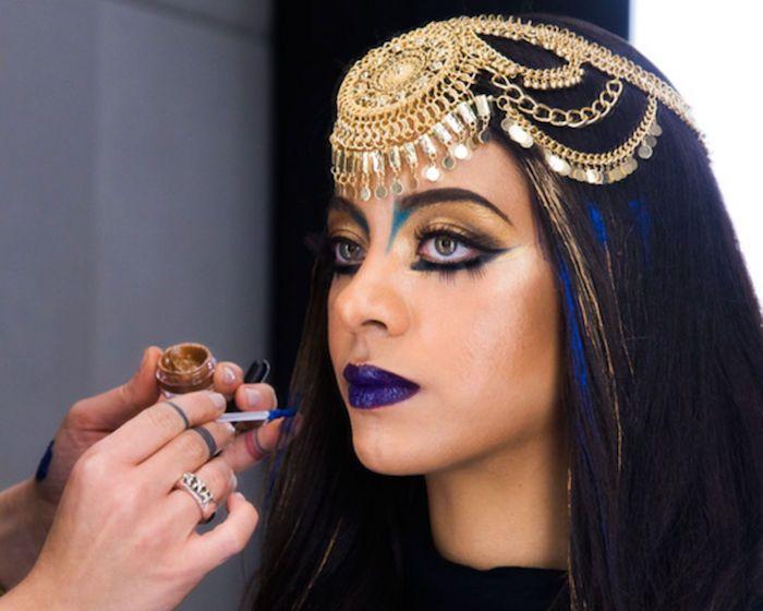 1001 Ideen Fur Cleopatra Schminken Inspiration Fashion Crown