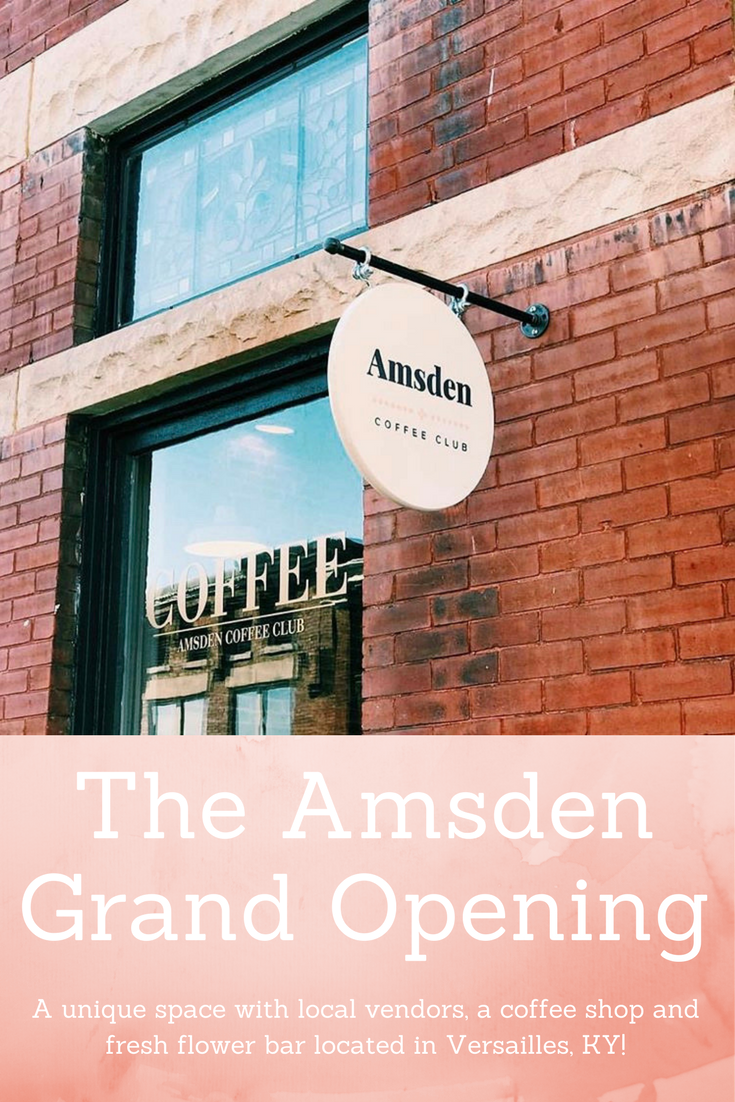 The Amsden Grand Opening Grand opening, Flower bar